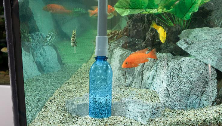 Jöst Mulmglocke für Aquarien Eco Gravel Cleaner