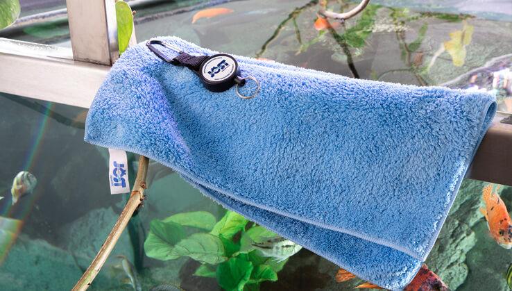 Jöst  Aquarium Clip für Soft & Dry Mikrofaser Handtuch
