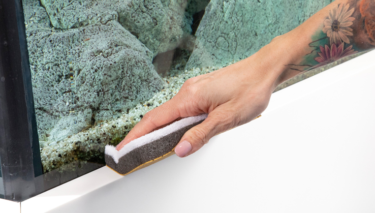 Jöst Aquarium Reinigungsschwamm Clean & Dry