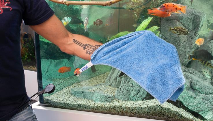 Jöst Aquarium Handtuch Mikrofaser Soft & Dry MAXI